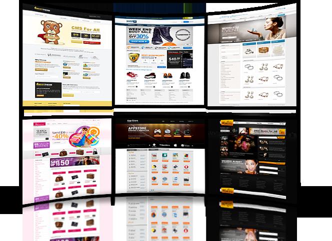 web designs example