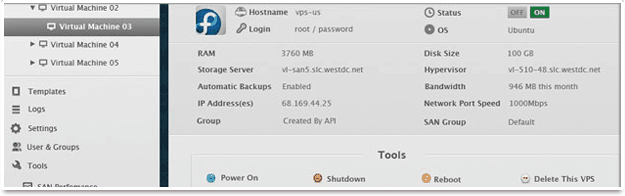 Power Server